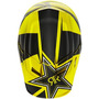 Capacete Fox V1 Rockstar 15 Preto/amarelo 55/56 Rs1