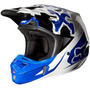 Capacete Fox V2 Anthem Azul 57/58 Rs1