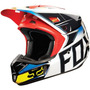 Capacete Fox V2 Race Vermelho/amarelo 55/56 Rs1