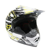Capacete Cross - Th1 Top Helmet - Amarelo - Pro Tork