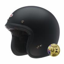 Capacete Bell Aberto Custom 500 Solid Black