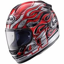 Capacete Para Moto Arai Chaser Red Tam 60