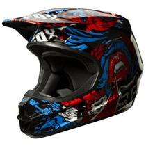 Capacete Fox V1 Creeping Motocross, Motoqueiro, Moto