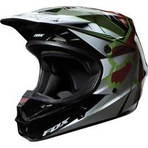 Capacete Fox V1 Radeon Vermelho Motocross, Motoqueiro, Moto