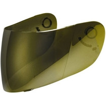 Viseira Dourada Espelhada Para Capacete Tdf Series