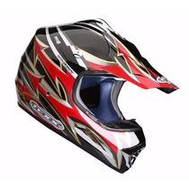 Capacete Moto Cross Texx Speed X Fibra Vidro Kevlar Trilha
