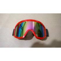 Óculos P/ Capacete Motocross Trilha Espelhado Off Road Cross