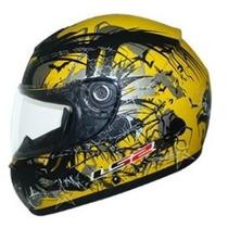 Capacete Ls2 Ff350 Phobia Amarelo