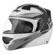 Capacete Robocop Moto Pro Tork V-pro Jet 2 Carbon Balaclava