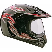 Capacete Motocross Com Viseira