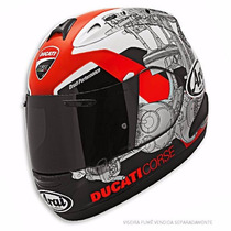 Capacete Arai Rx-7 Gp Ducati Corse 14 - 56, 58, 60, 62- Moto