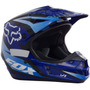 Capacete Fox V1 Motocross Trilha Enduro Off Road Race Azul