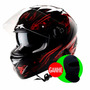 Capacete Astone Gtb Inferno Red