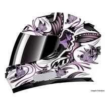 Capacete Mt New Butterfly - Branco - Motoxwear