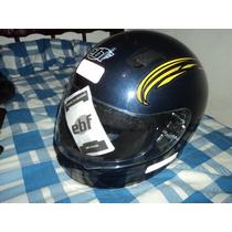 Kit Acessorios Moto (capacete Ebf + Luva + Galocha E Trava)