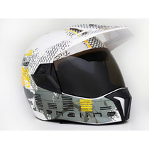 Capacete Moto Bieffe 3 Sport Dakar Adrenaline Promoção