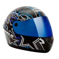 Capacete Integral Motociclista Peels Spike Enterprise Azul