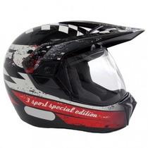 Capacete Bieffe 3 Sport Special Edition Pto/ Ver Lançamento