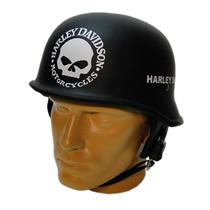 Capacete M34 - Custom Chopper - Harley Davidson Skull