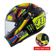 Capacete Agv Pista Gp Winter Test Monster Rossi 59/60 Rs1