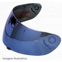 Viseira Capacetes - Ls2 - Ff 350 - Iridium E Cristal -glider