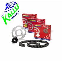 Kit Relação Original Xre 300 Hamp Kallu Motos