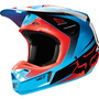 Capacete Fox V2 Imperial Azul 57/58 Rs1