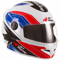 Capacete 4 Racing Pro Tork Masculino Moto Corrida