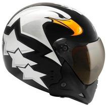 Capacete Peels F21 Eagle (preto / Branco)