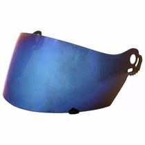 Viseira Suomy Ventura / Explorer Espelhada Azul