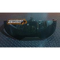 Viseira Vaz Interna Fumê (preta) M14 Beta Series Robocop