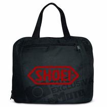 Bolsa Para Capacete Logo Shoei Vermelho