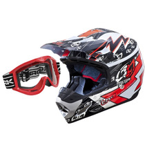 Capacete Moto Cross Pro Tork Th1 Eletric Trilha + Óculos 788