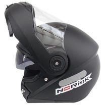 Capacete Norisk Ff370 Escamoteável Robocop Pto Fos C/ Óculos