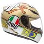 Capacete Agv K3 Chicken Valentino Rossi + Brinde