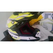 Capacete Ls2 Mx 456 Top!!! Motocross Trilha