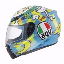 Capacete Motoqueiro Agv K3 Wake Up Valentino Rossi