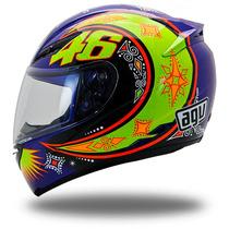 Capacete Agv K3 Rossi Moto Gp Blue