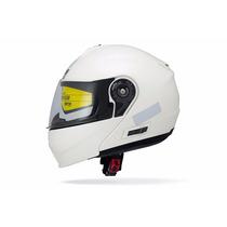 Capacete Branco Beta Series Lp01 Articulador 58