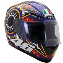 Capacete Agv K3 Moto Gp Valentino Rossi 46 Tamaho 58
