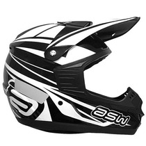 Capacete Asw Factory 16 Preto 57/58 Rs1
