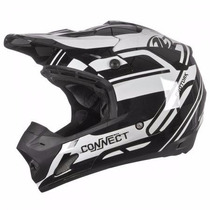 Capacete Cross Th1 Connect Solid Pro Tork Motocross