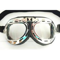 Oculos Motociclista Aviador Capacete Aberto Harley Custom