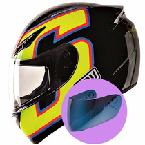 Capacete Agv K-3 Rossi Seven Shots - Onmoto!