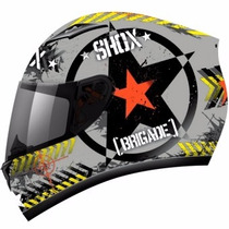 Capacete Esport Motociclista Shox Axxis Brigade Frete Grátis