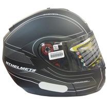 Capacete Mt Helmets Optimus Raceline Escamoteável - 56