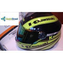Capacete Fechado Kawasaki - Zx10 Zx6 Z1000 Z 750 Z 800