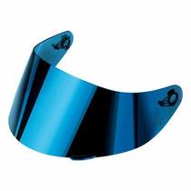 Viseira Agv K3 Sv Policarbonato Azul Iridium Original