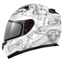 Capacete Mt Helmets Blade Global Adventure Branco - 58