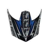 Pala Aba Visor Capacete Shift Agent Azul - Trilha Motocross